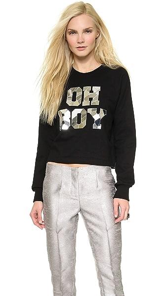 Markus Lupfer Oh Boy Mirror Sweatshirt