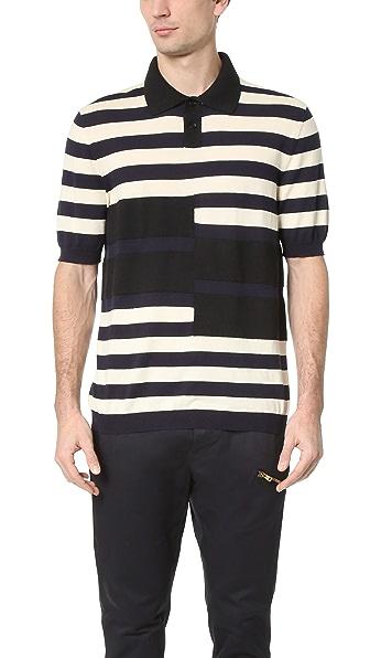 Marni Knit Stripe Polo