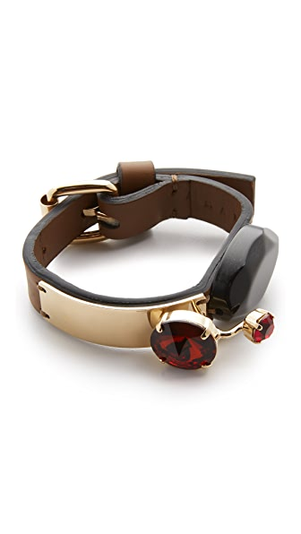 Marni Leather Bracelet