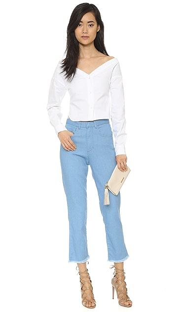 Marques Almeida High Waist Skinny Jeans