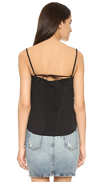 Marques Almeida Camisole with Unfinished Hem