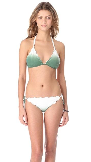 Marysia Swim Cay Scallop String Bikini