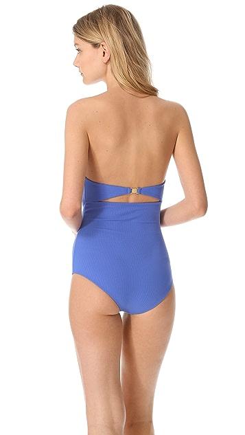 Marysia Swim Mavi Cutout One Piece Swimsuit