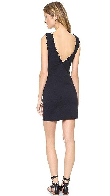 Marysia Swim Fitted Scallop Dress