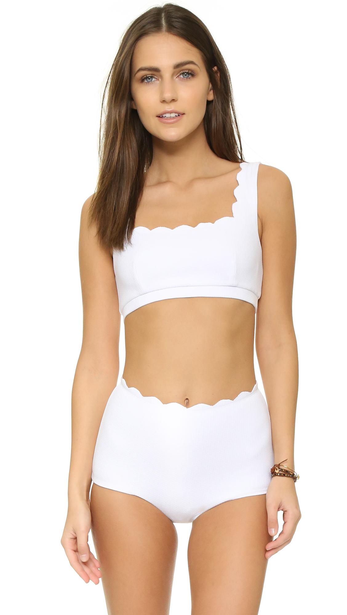 cf7d90c250 Marysia Palm Springs Sporty Bikini Top | SHOPBOP