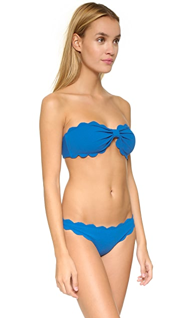 Marysia Swim Antibes Scallop Bikini Top