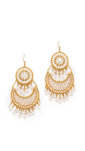 Miguel Ases Tiered Earrings