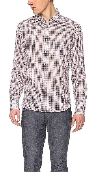 Mason's Check Sport Shirt