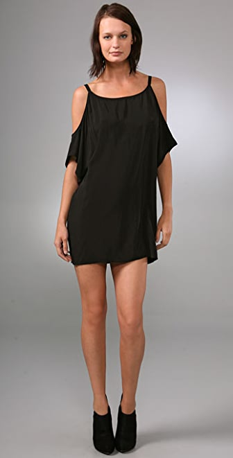 Michelle Mason Open Shoulder Dress