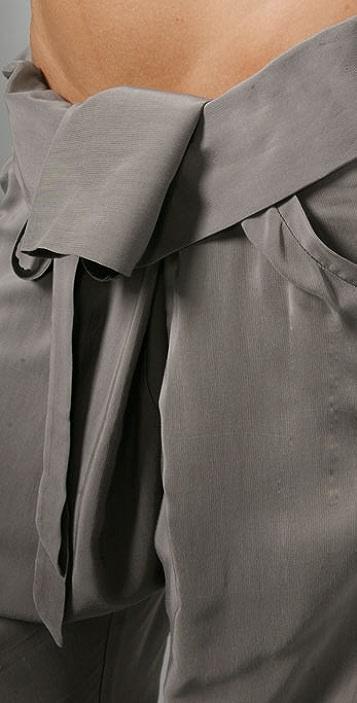 Michelle Mason Fold Over Pants