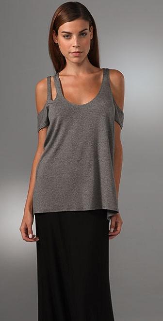 Michelle Mason Multi Strap Top