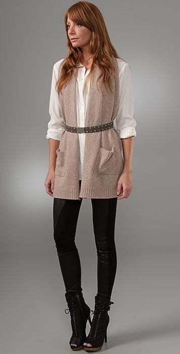 Michelle Mason Scarf Vest