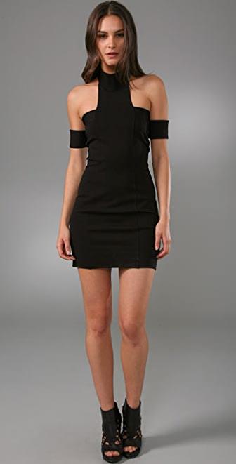 Mason by Michelle Mason Open Shoulder Dress