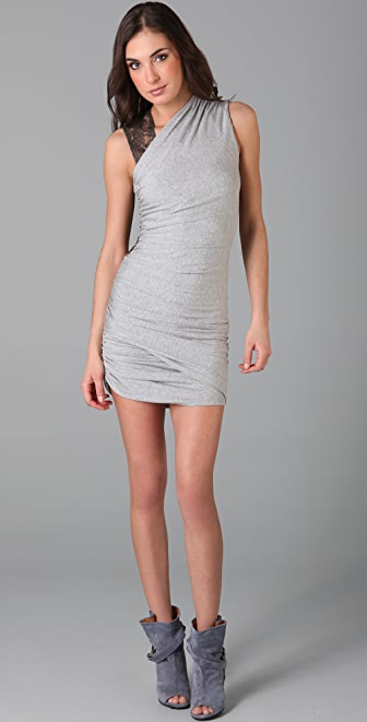 Michelle Mason Lace Back Dress