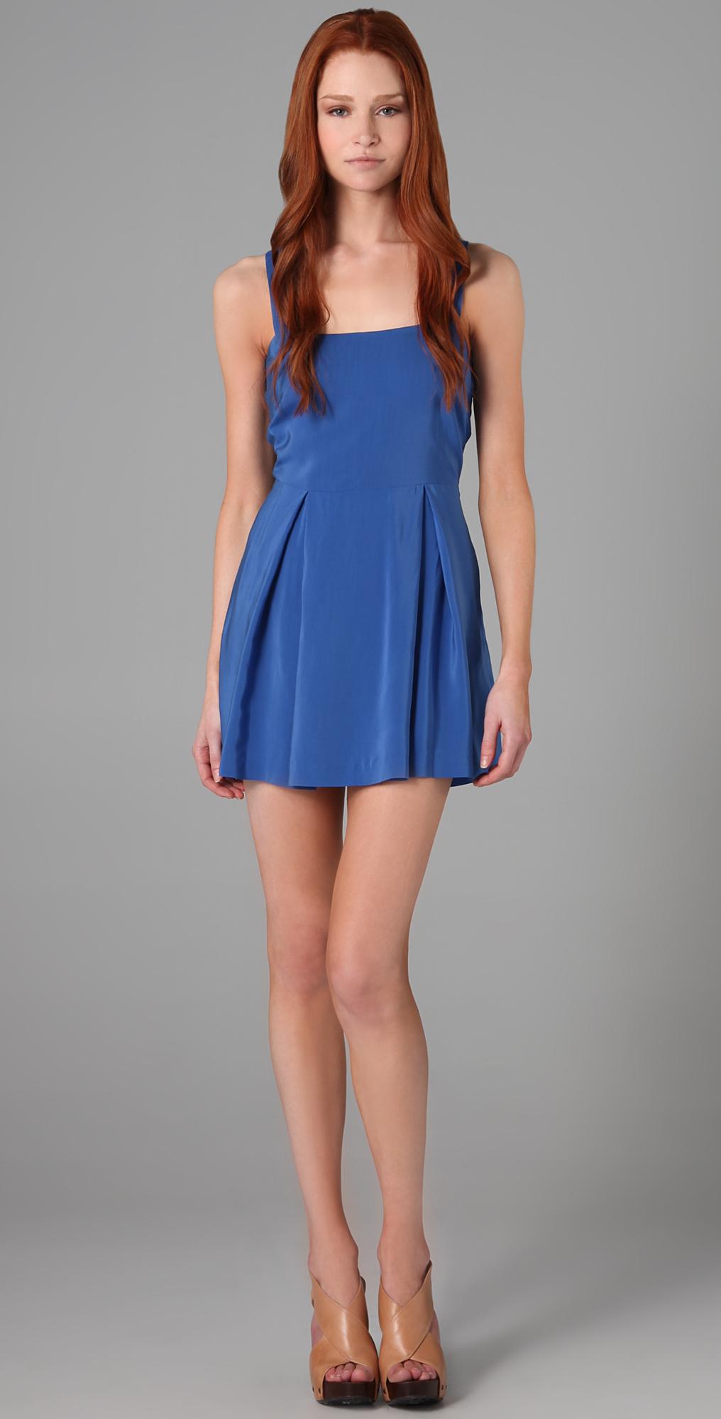 Blue apron dress - Blue Apron Dress 75