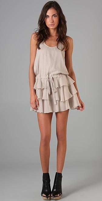 Michelle Mason Ruffle Tank Dress