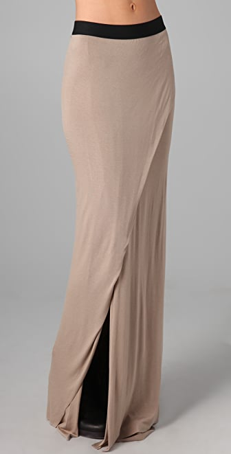 Michelle Mason Maxi Skirt with Slit