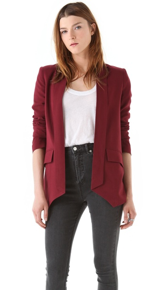 Mason by Michelle Mason Shawl Collar Jacket