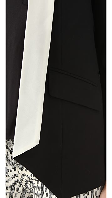 Michelle Mason Contrast Collar Jacket