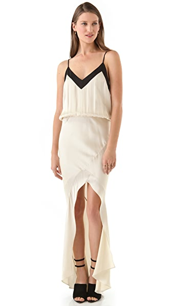 Michelle Mason Strappy Gown
