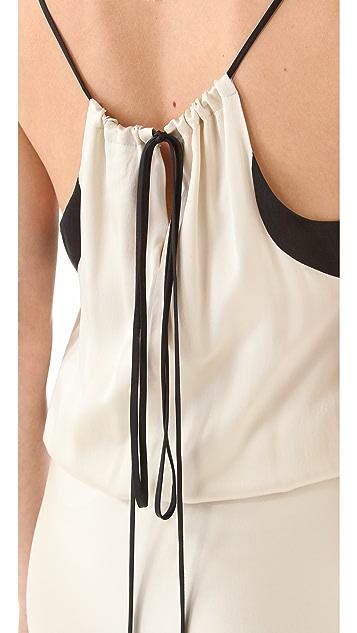 Michelle Mason Strappy Gown