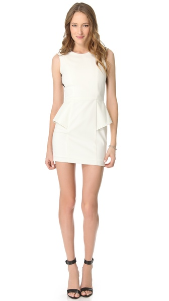 Mason by Michelle Mason Elastic Back Dress