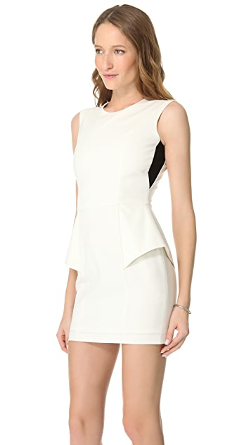 Michelle Mason Elastic Back Dress