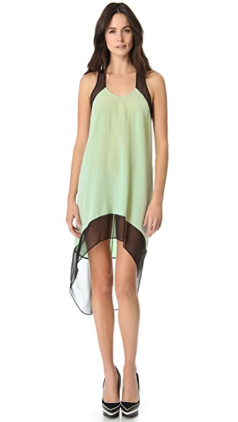 Mason by Michelle Mason Colorblock Trapeze Dress
