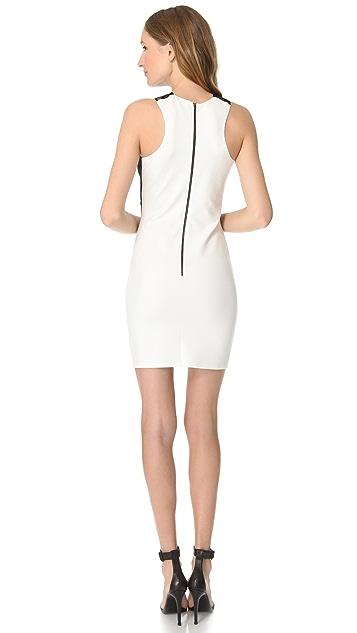 Michelle Mason Lace Inset Dress