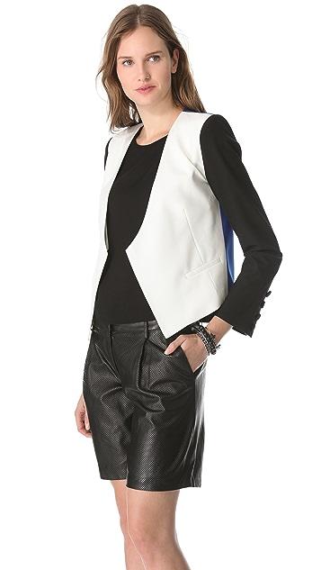Michelle Mason Tri-Colored Jacket