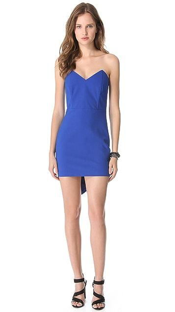 Michelle Mason Corset Mini Dress