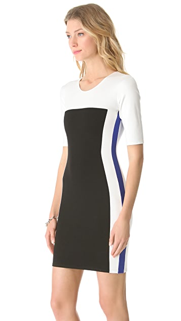 Michelle Mason Tricolor Dress