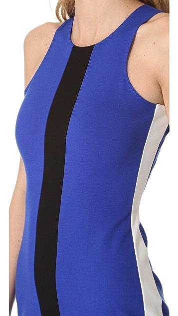 Michelle Mason Tricolor Tank Dress