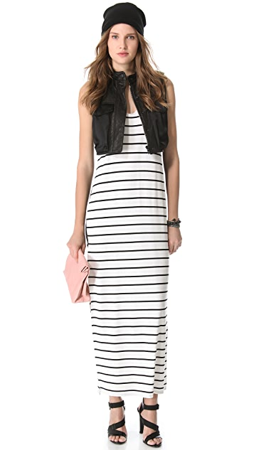 Michelle Mason Tank Maxi Dress