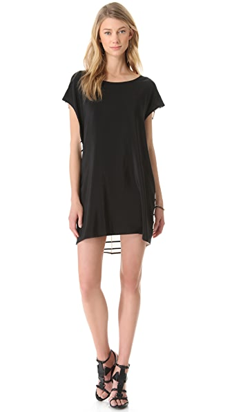 Michelle Mason Open Back Tunic Dress