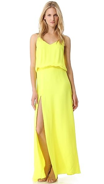 Michelle Mason Double Strap Gown