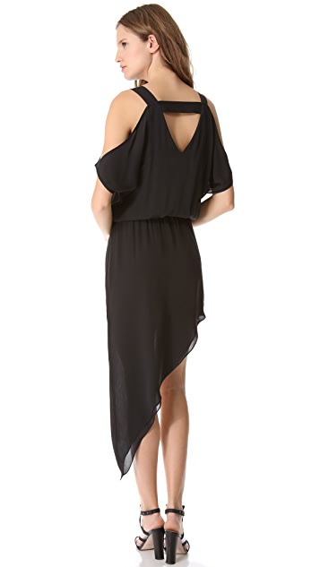 Michelle Mason Asymmetrical Dress
