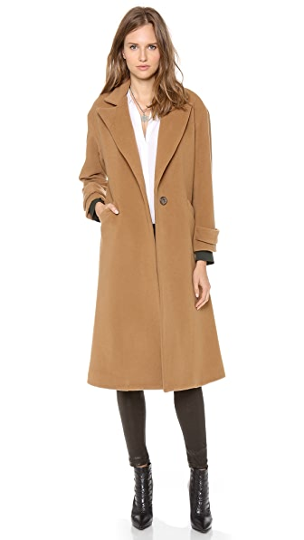Michelle Mason Oversized Maxi Coat