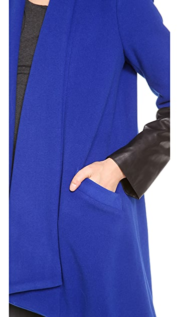 Michelle Mason Oversized Car Coat