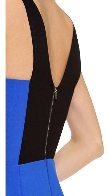 Michelle Mason V Neck Dress