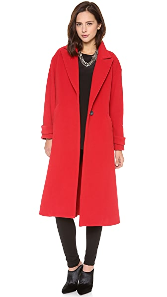 Mason by Michelle Mason Oversized Maxi Coat