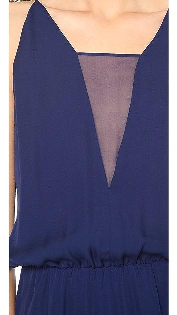 Michelle Mason Asymmetrical Cami Dress