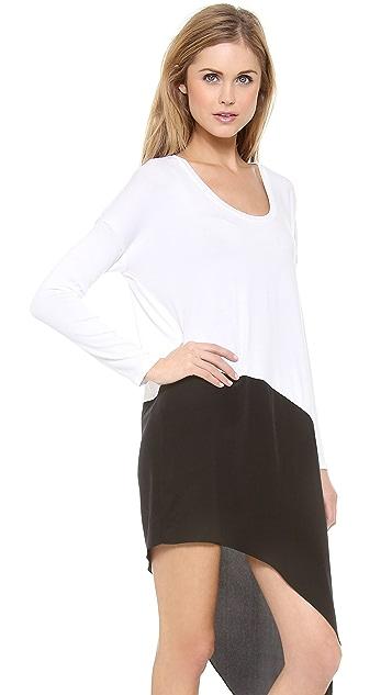 Michelle Mason Asymmetric Dress