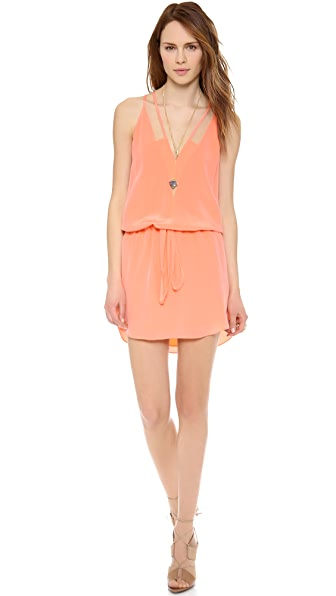 Mason by Michelle Mason Strappy Mini Dress