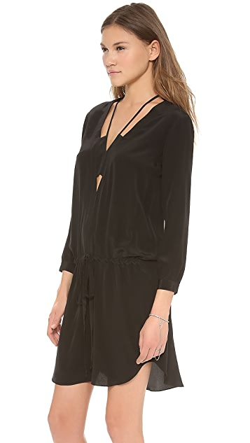 Michelle Mason Long Sleeve Mini Dress
