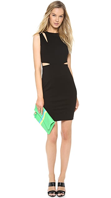 Michelle Mason Cutout Tank Dress