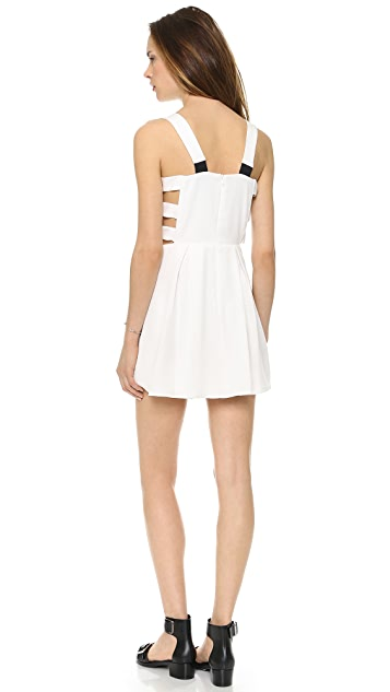 Michelle Mason Cutout Mini Dress