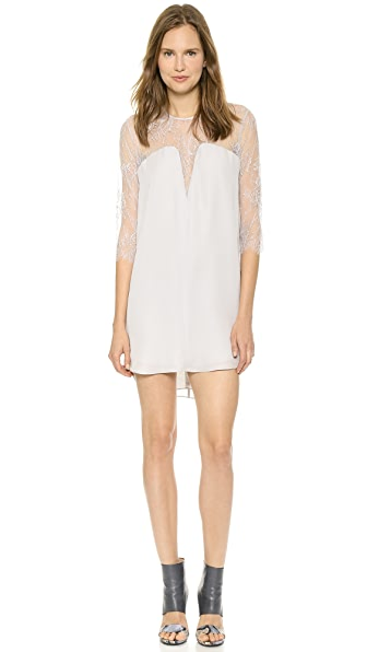 Michelle Mason Lace Shift Dress