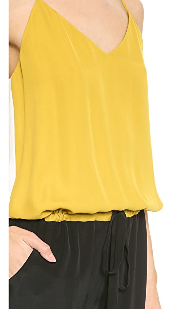 Michelle Mason Contrast Cami Jumpsuit