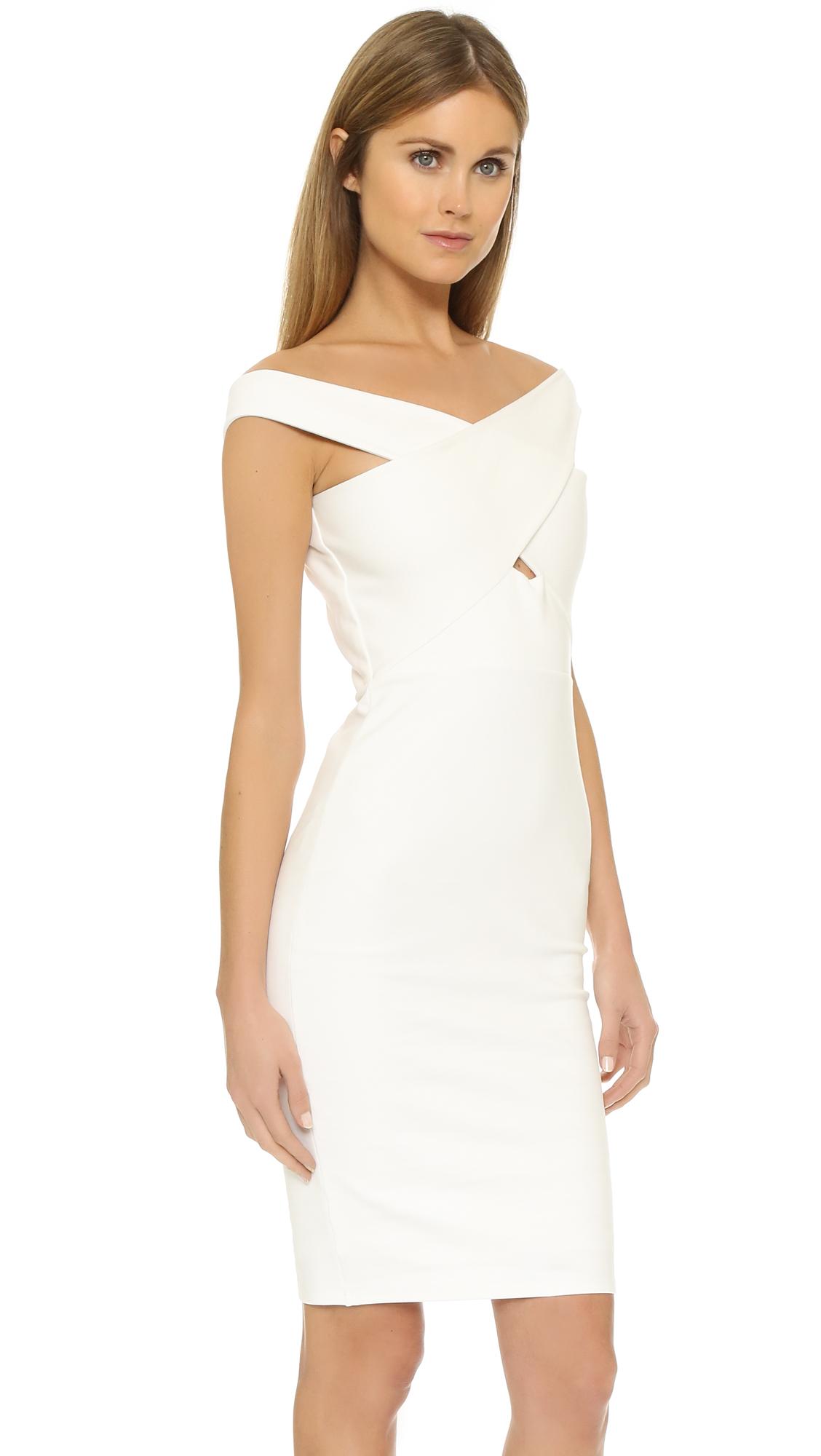 Michelle Mason Woman Stretch-knit Top Ivory Size M Michelle Mason Manchester For Sale QTcMxco